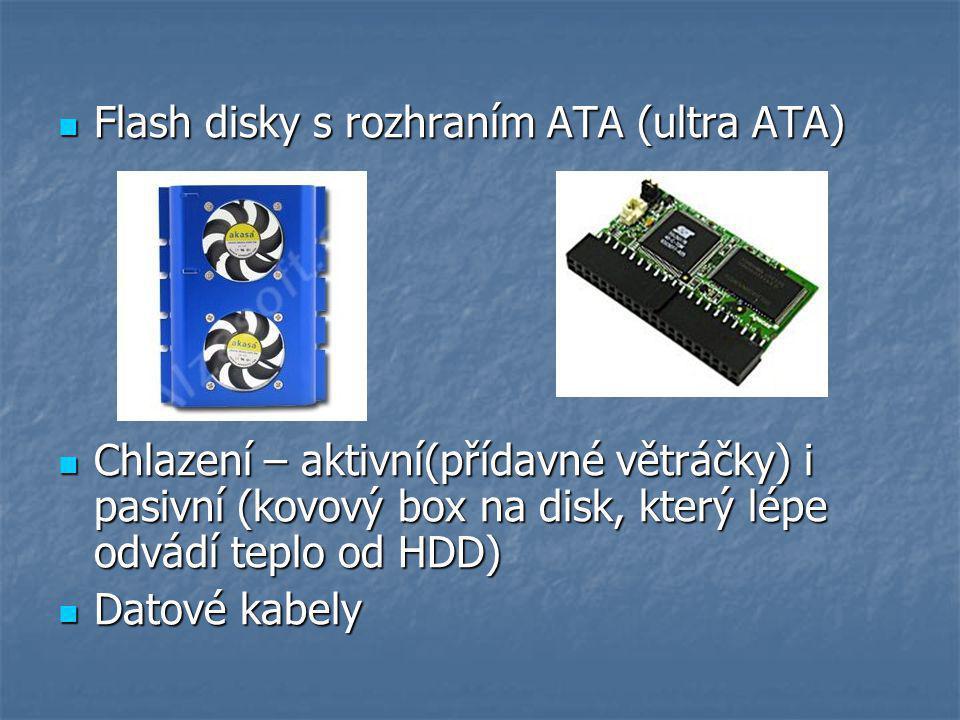 Flash disky s rozhraním ATA (ultra ATA)