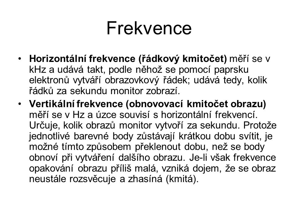 Frekvence