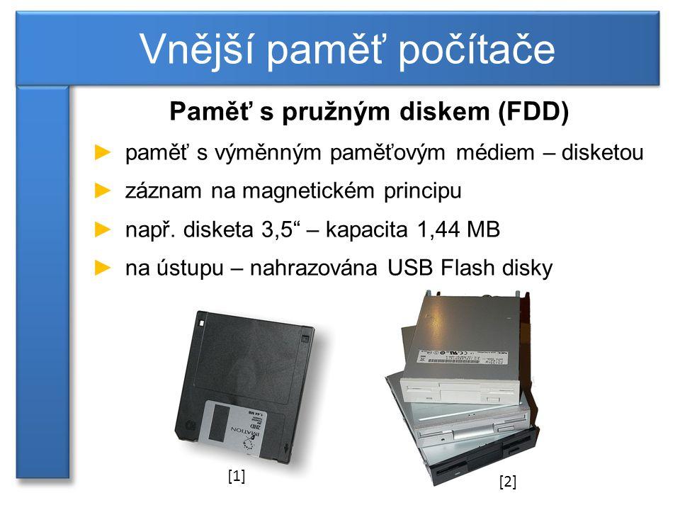 Paměť s pružným diskem (FDD)