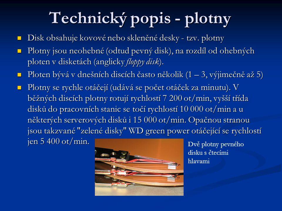 Technický popis - plotny
