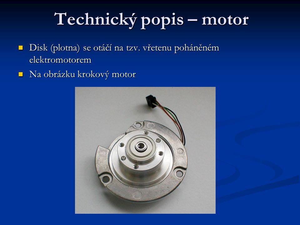 Technický popis – motor