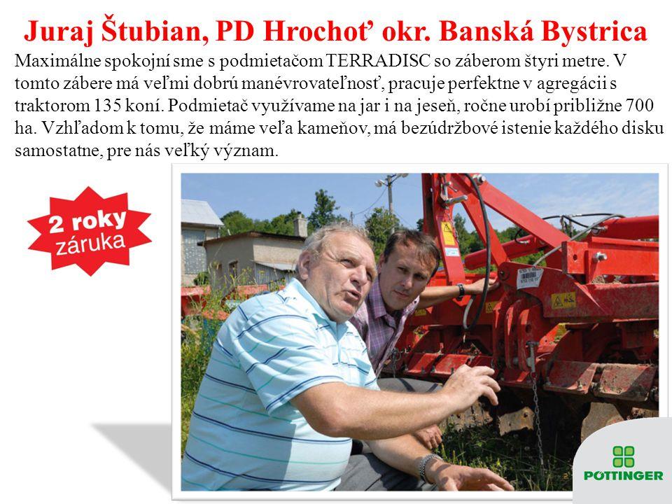 Juraj Štubian, PD Hrochoť okr. Banská Bystrica