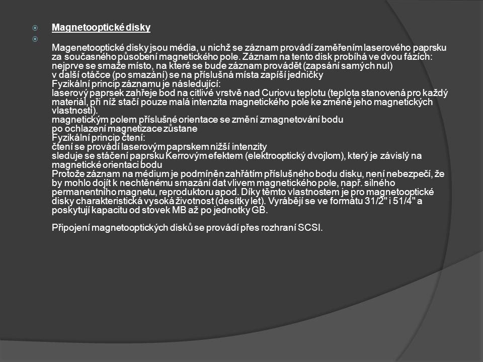 Magnetooptické disky