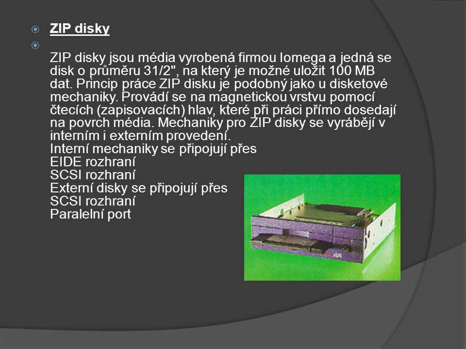 ZIP disky