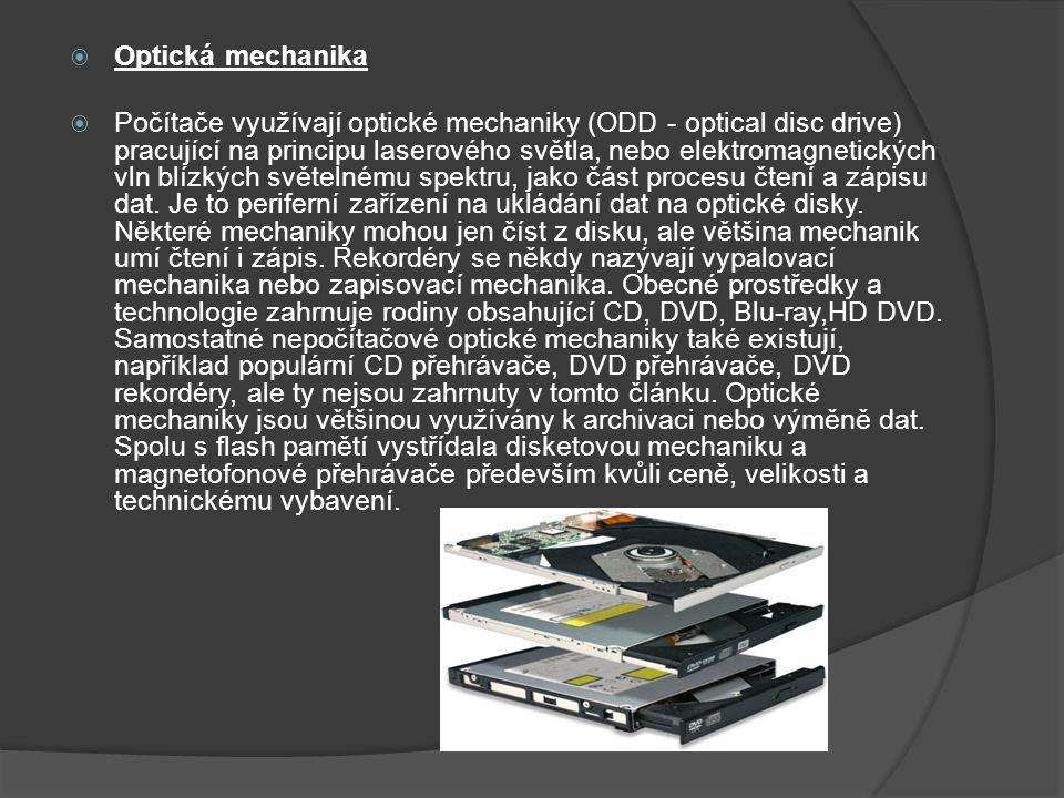 Optická mechanika