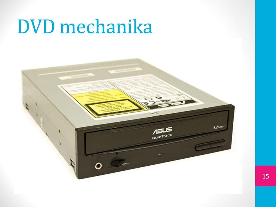 DVD mechanika