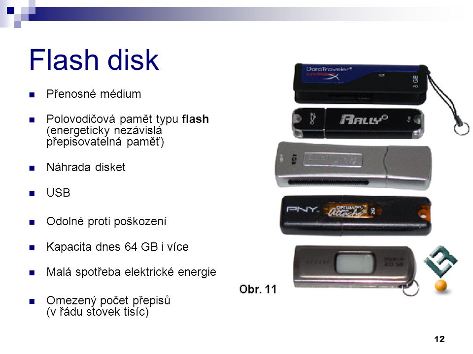 Flash disk Přenosné médium