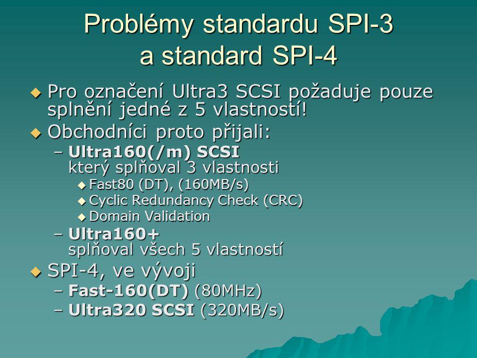 Problémy standardu SPI-3 a standard SPI-4