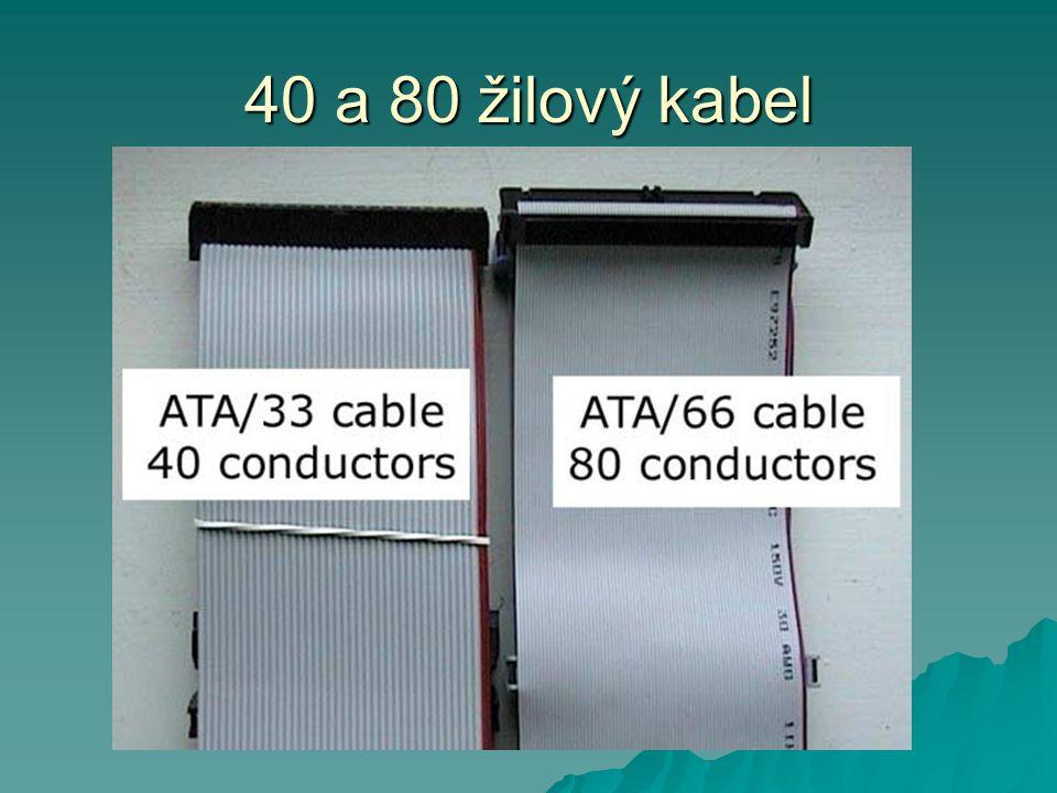 40 a 80 žilový kabel
