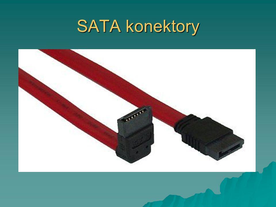 SATA konektory