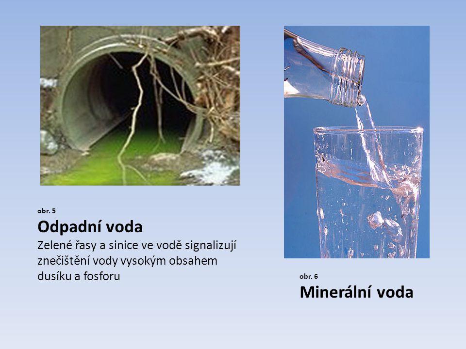Odpadní voda Minerální voda