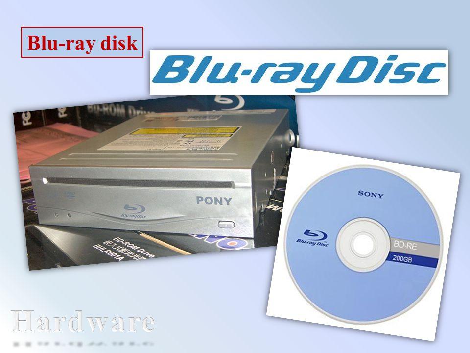 Blu-ray disk Hardware