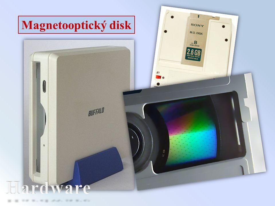 Magnetooptický disk Hardware