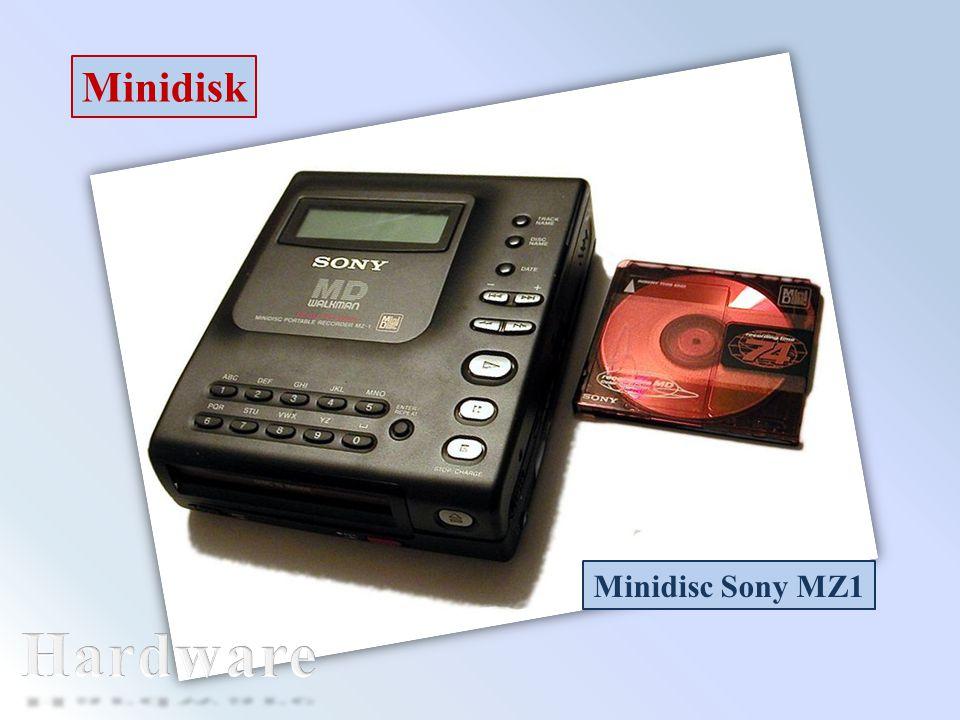 Minidisk Minidisc Sony MZ1 Hardware