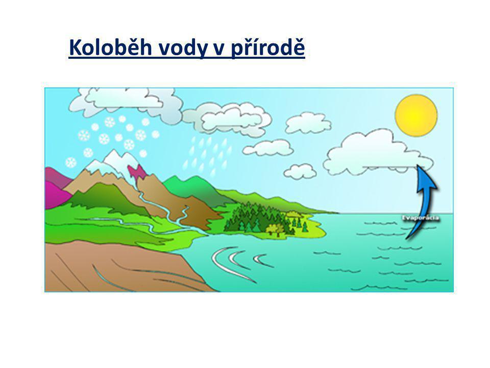 Koloběh vody v přírodě