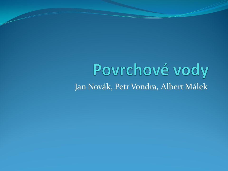 Jan Novák, Petr Vondra, Albert Málek