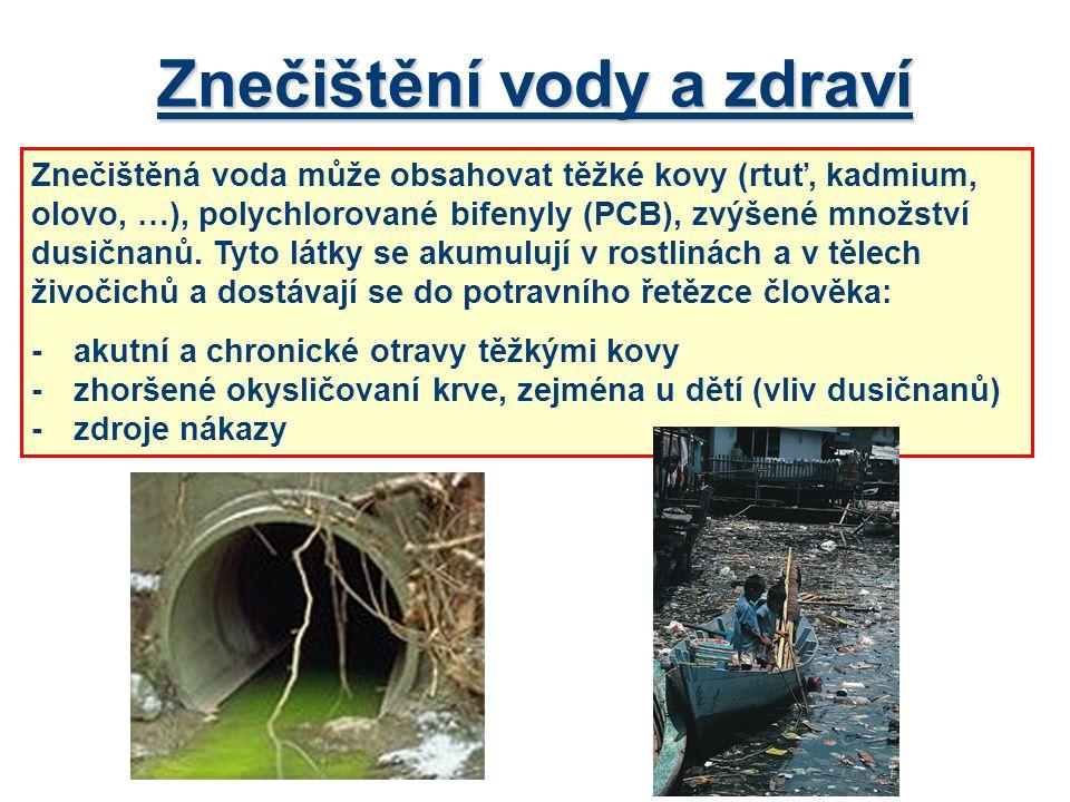 Znečištění vody a zdraví