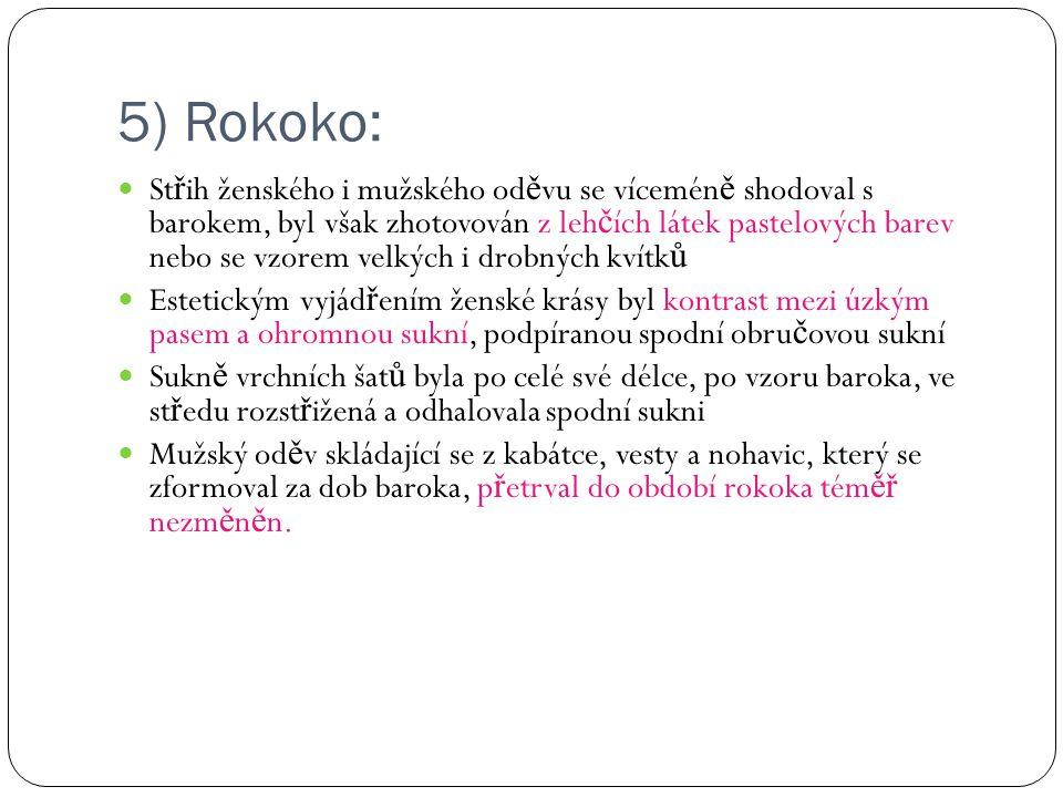 5) Rokoko: