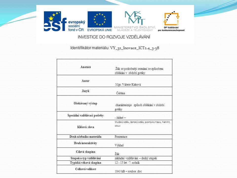 Identifikátor materiálu: VY_32_Inovace_ICT2.4_3-58