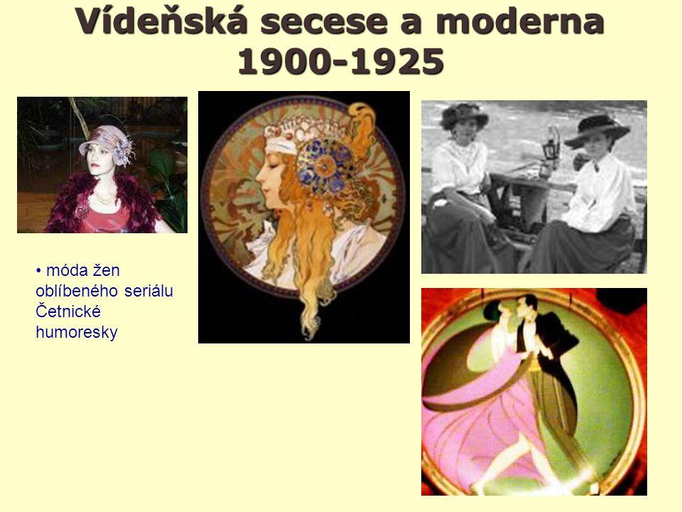 Vídeňská secese a moderna 1900-1925