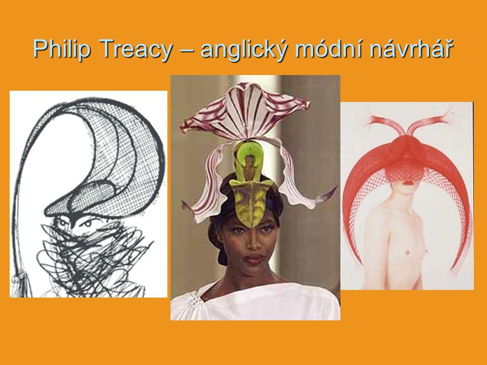 Philip Treacy – anglický módní návrhář