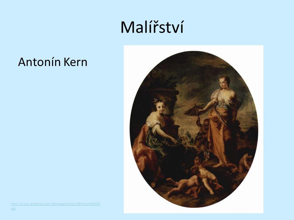 Malířství Antonín Kern