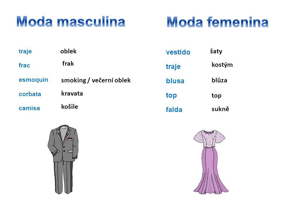 Moda masculina Moda femenina