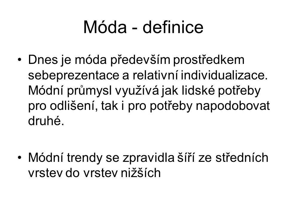 Móda - definice