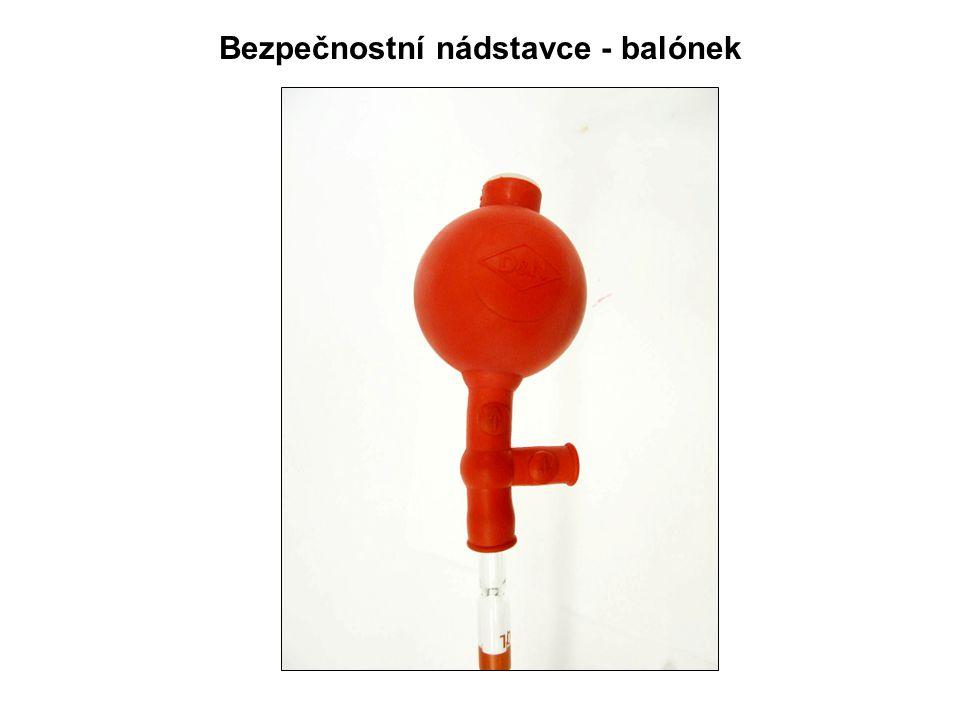 Bezpečnostní nádstavce - balónek