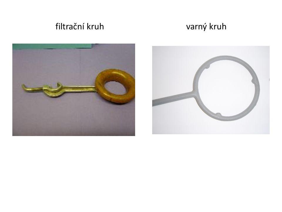 filtrační kruh varný kruh