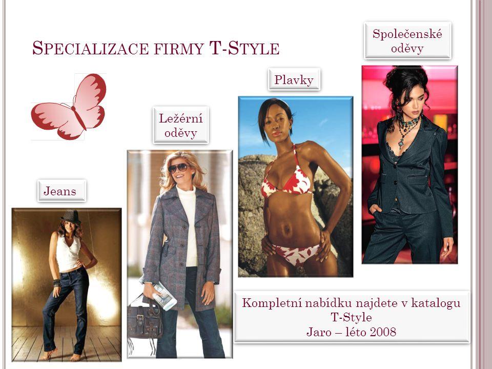 Specializace firmy T-Style
