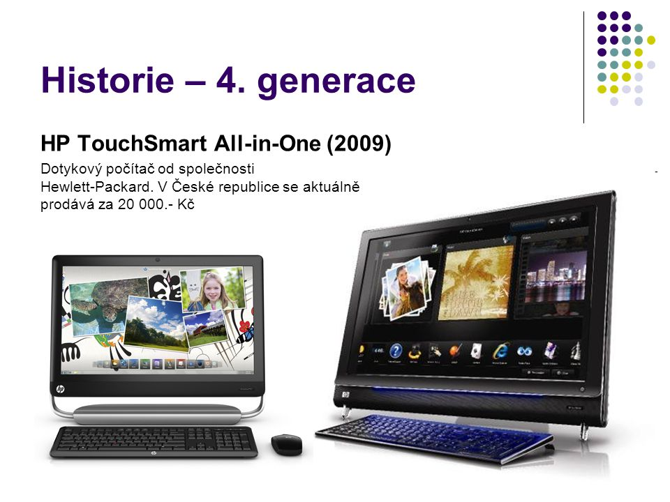 Historie – 4. generace HP TouchSmart All-in-One (2009)