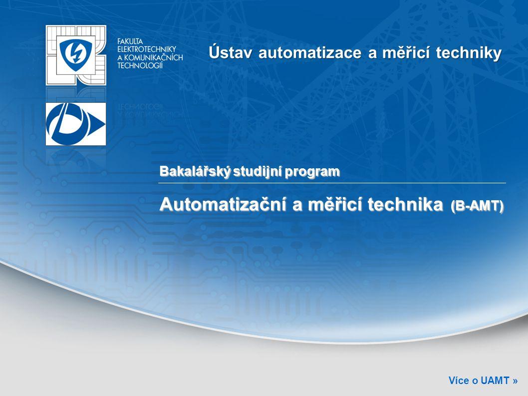 Automatizační a měřicí technika (B-AMT)