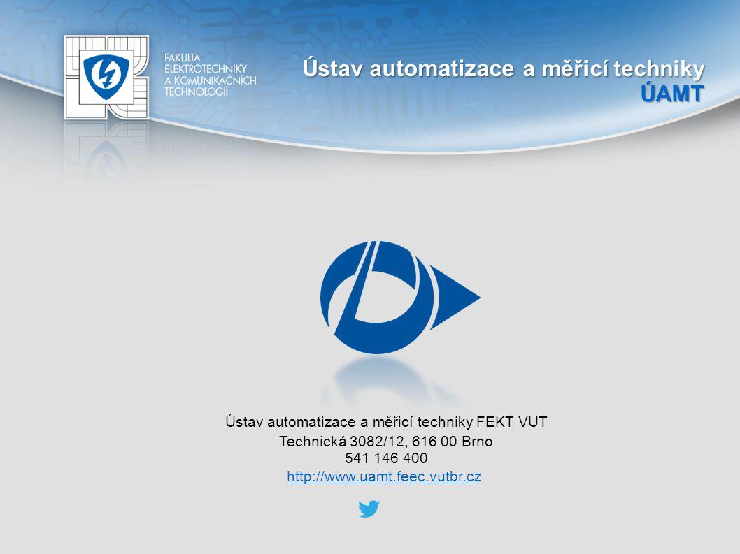 Ústav automatizace a měřicí techniky FEKT VUT