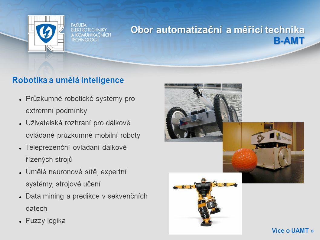 Obor automatizační a měřicí technika B-AMT