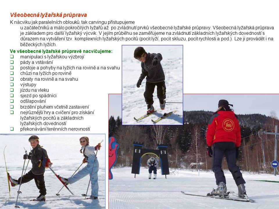 Všeobecná lyžařská průprava