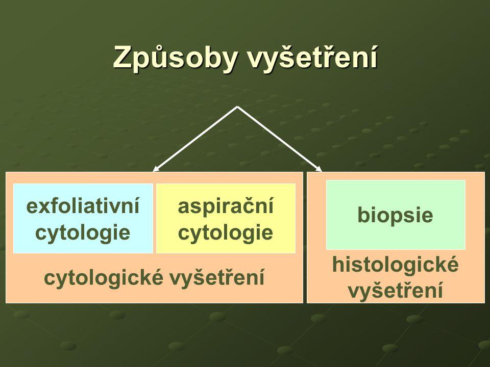 cytologické vyšetření