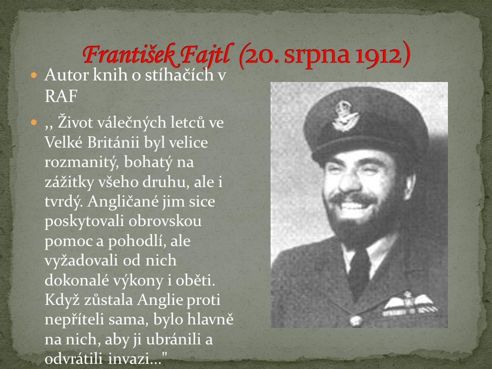 František Fajtl (20. srpna 1912)