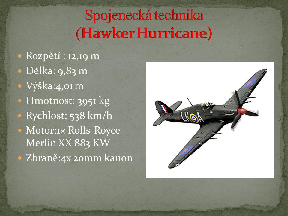 Spojenecká technika (Hawker Hurricane)