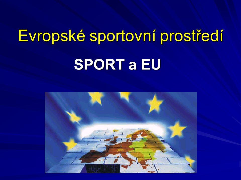 Evropské sportovní prostředí