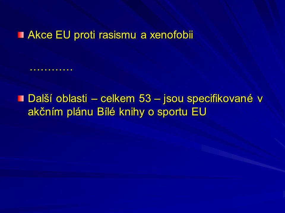 Akce EU proti rasismu a xenofobii