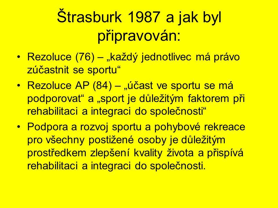 Štrasburk 1987 a jak byl připravován: