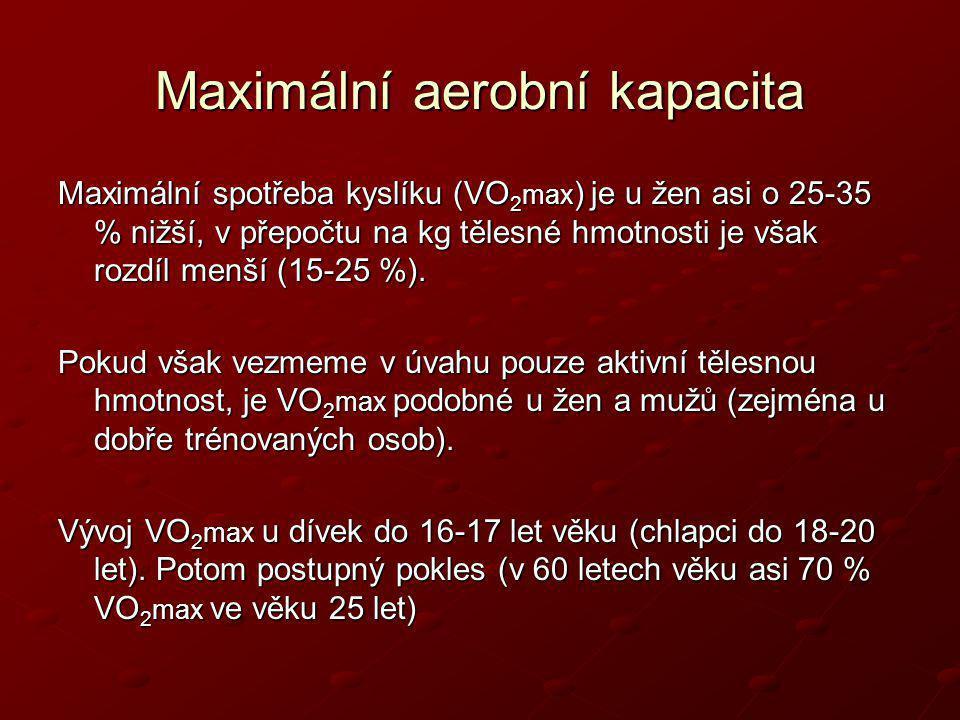 Maximální aerobní kapacita