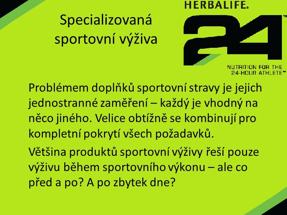 Specializovaná sportovní výživa