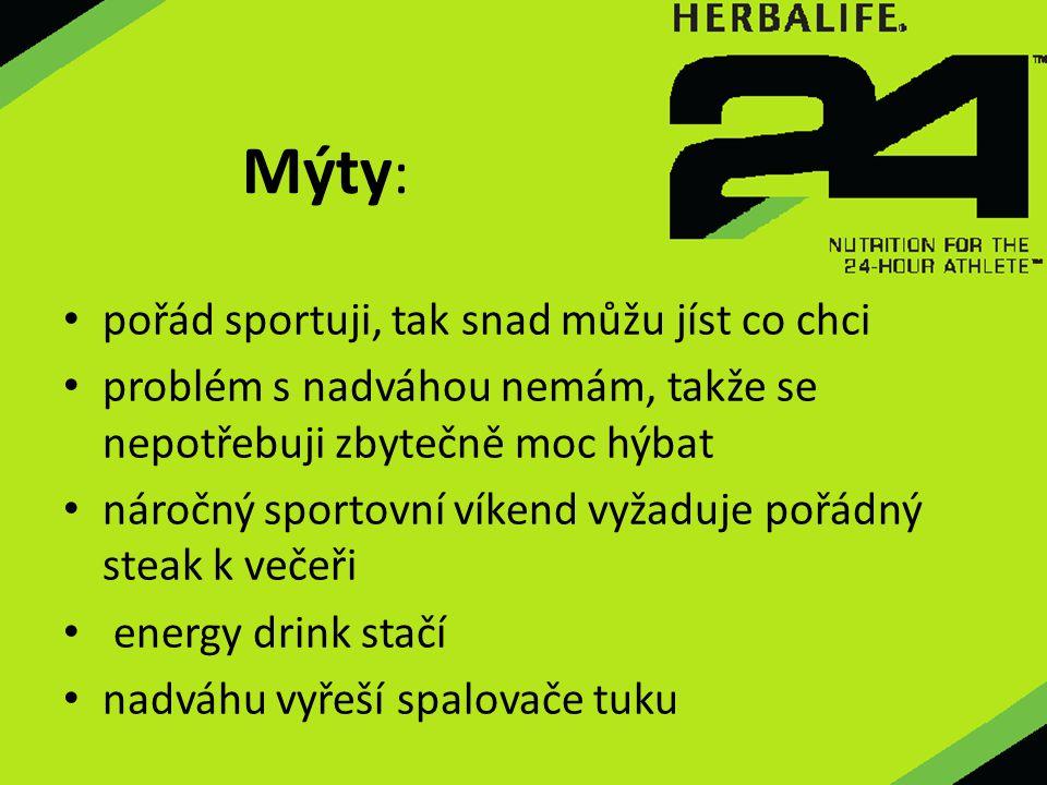 Mýty: pořád sportuji, tak snad můžu jíst co chci