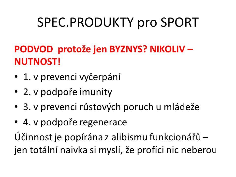 SPEC.PRODUKTY pro SPORT