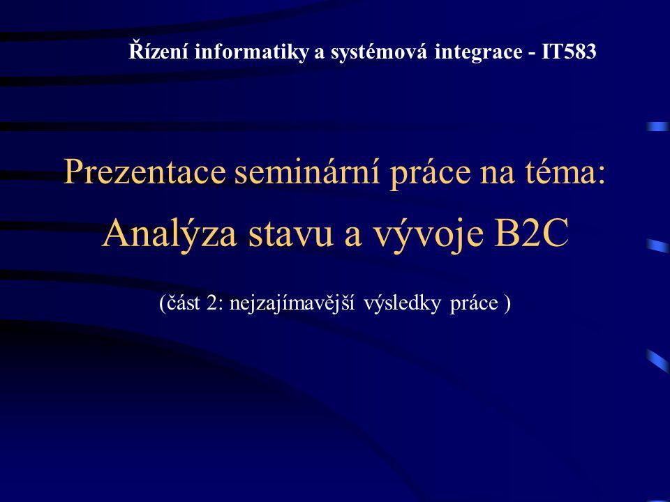 Řízení informatiky a systémová integrace - IT583
