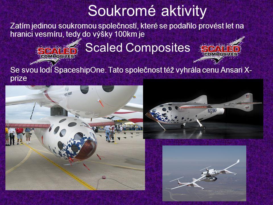 Soukromé aktivity Scaled Composites
