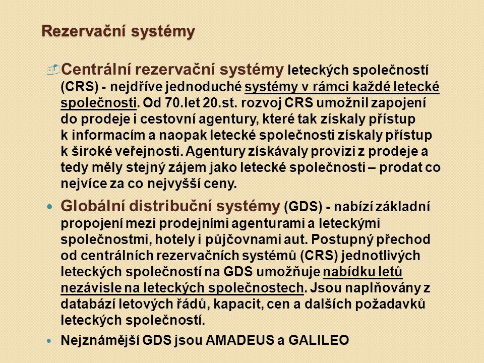 Rezervační systémy