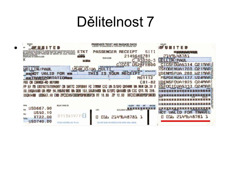 Dělitelnost 7